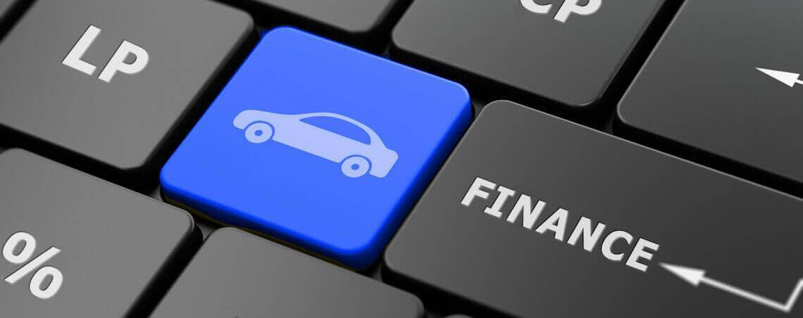 Buying a new car on finance